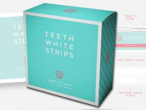 Spotlight whitening strips are back in stock!